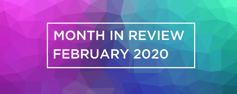 Wireless and Networking Month in Review for February 2020