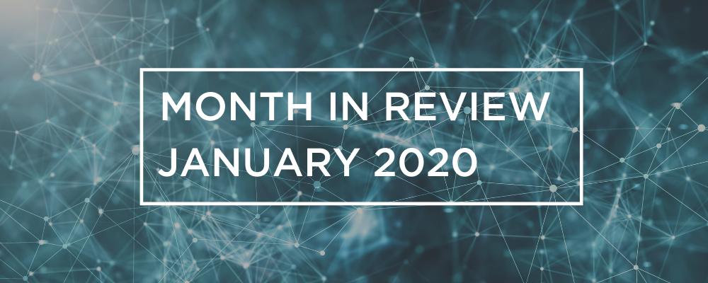 Wireless and Networking Month in Review for January 2020