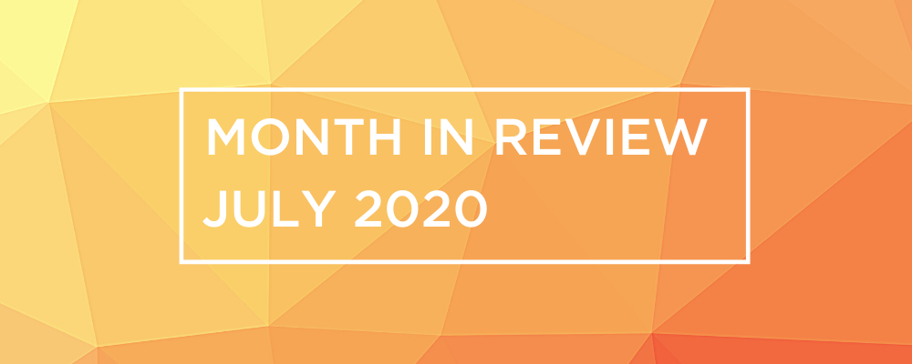 Wireless and Networking Month in Review for July 2020