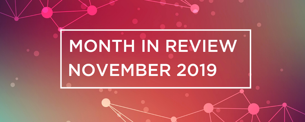 Wireless and Networking Month in Review for November 2019
