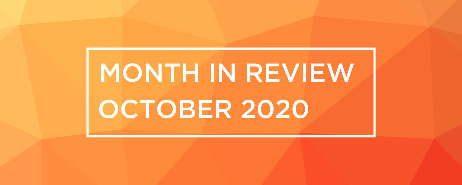 Wireless and Networking Month in Review for October 2020