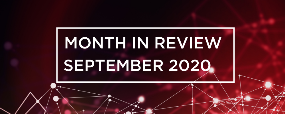 Wireless and Networking Month in Review for September 2020