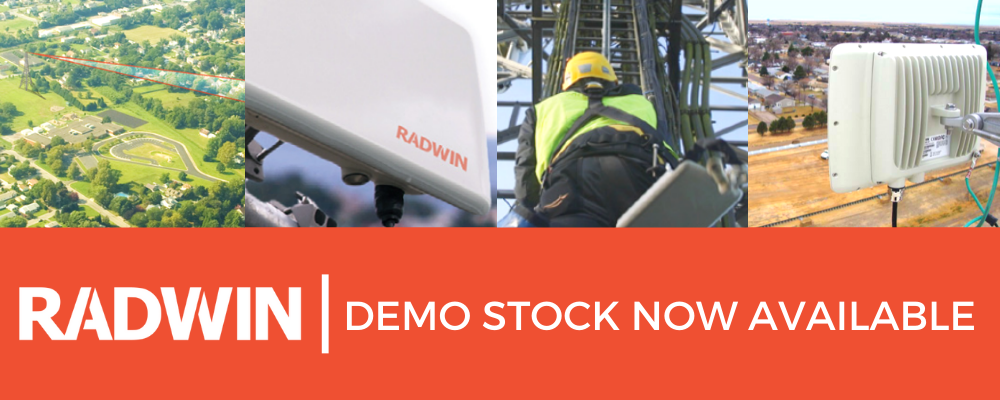 RADWIN Demo Stock Now Available