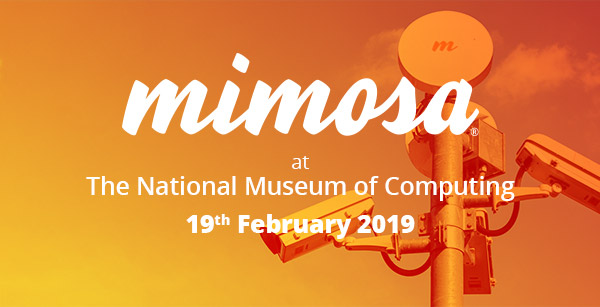 Mimosa at The National Museum of Computing - 19th February 2019