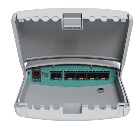 MikroTik FiberBox 5x SFP Outdoor Fibre Switch