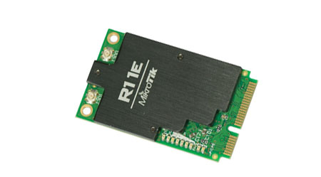 MikroTik RouterBOARD R11e-2HnD - 2.4Ghz mPCIe Wireless Card