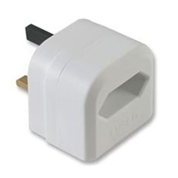 UK Mains Plug Adaptor for EU PSUs for UvC-MINI - White