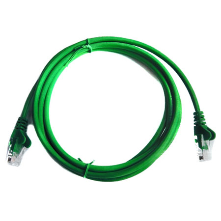 CAT5e RJ45 UTP Patch Cable - 0.5m GREEN