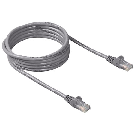 CAT5e RJ45 UTP Patch Cable - 0.5m GREY