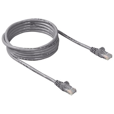CAT6 RJ45 UTP Patch Cable- 0.5m GREY