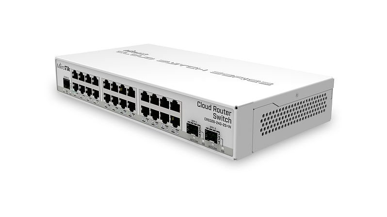 MikroTik CRS326-24G-2S+IN Cloud Router Switch