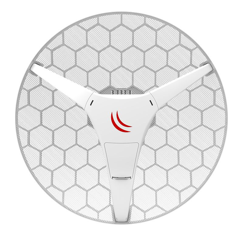 MikroTik RBLHGG-5acD 24.5dBi 5GHz CPE/Backbone with 802.11ac and Gigabit LAN
