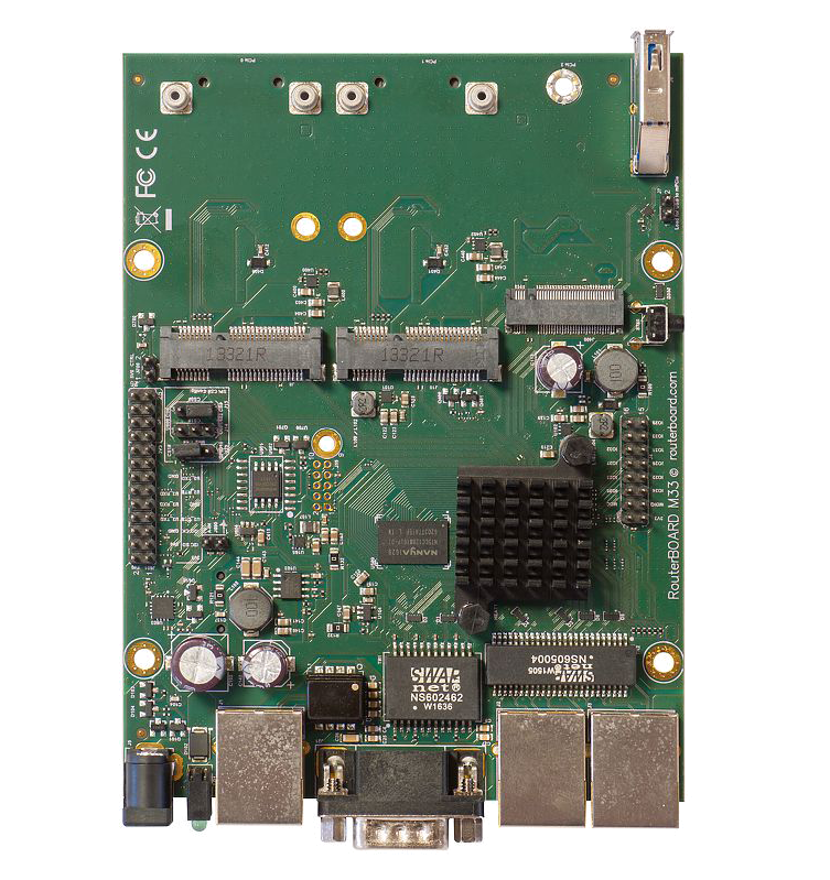 MikroTik RouterBOARD M33G System Board