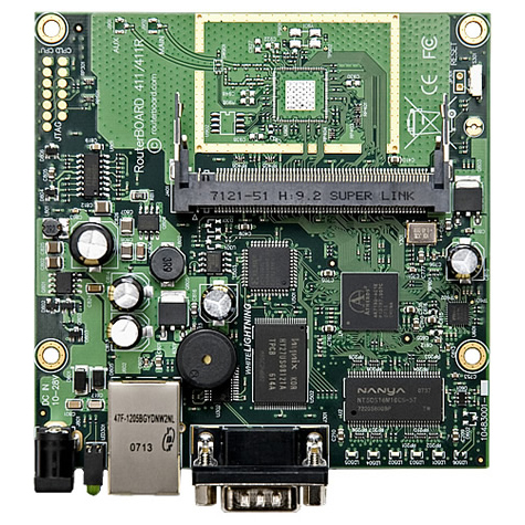 MikroTik RouterBOARD RB411 System Board