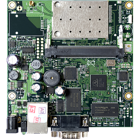 MikroTik RouterBOARD RB411AR System Board