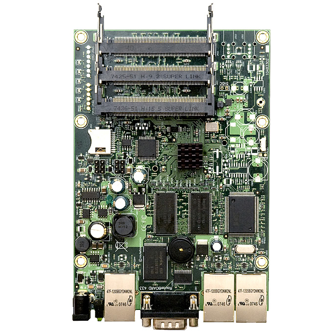 MikroTik RouterBOARD RB433AH System Board