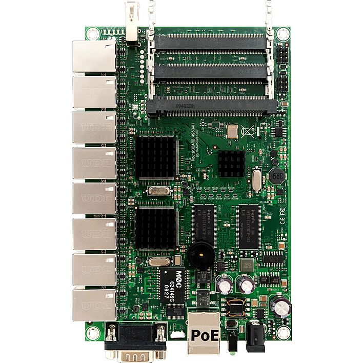 MikroTik RouterBOARD RB493G Gigabit System Board