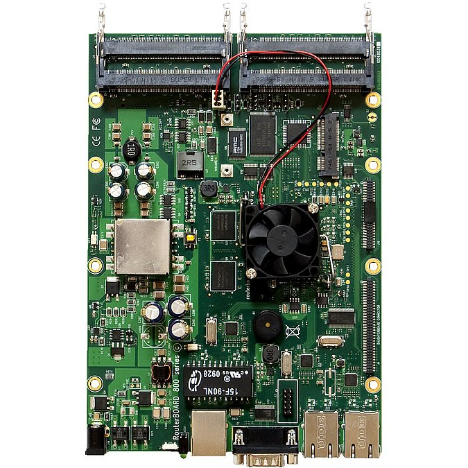 MikroTik RouterBOARD RB800 System Board