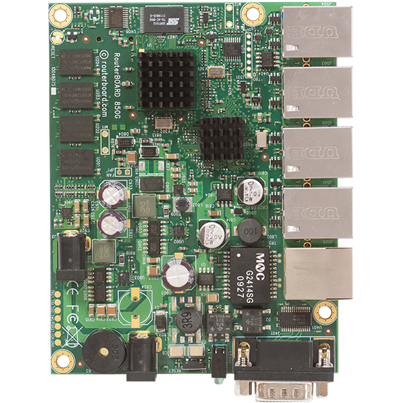 MikroTik RouterBOARD RB850Gx2 Gigabit Router
