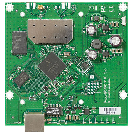 MikroTik RouterBOARD RB9511-5Hn System Board
