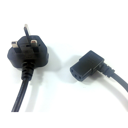 Right Angled IEC Mains Cable
