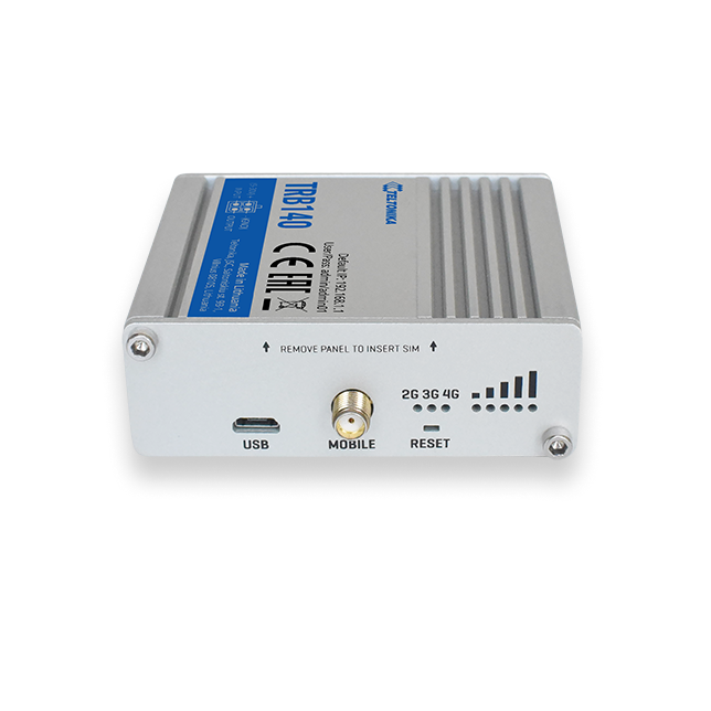 Teltonika TRB140 Ethernet to 4G LTE Industrial IoT Gateway