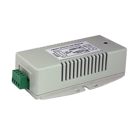 Tycon Power 18-36VDC in, dual 56VDC 802.3af/at out 70W high power PoE injector