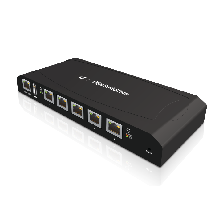 Ubiquiti EdgeSwitch 5-Port PoE Switch