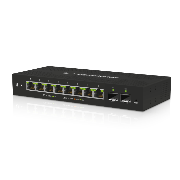 Ubiquiti EdgeSwitch 10XP Layer 2 PoE Switch