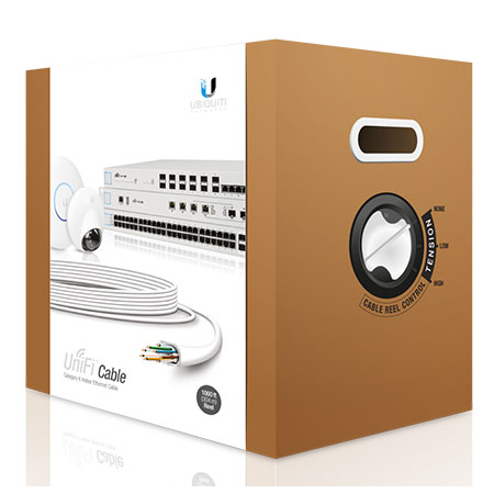 Ubiquiti UniFi Cat6 CMR Cable - 304m