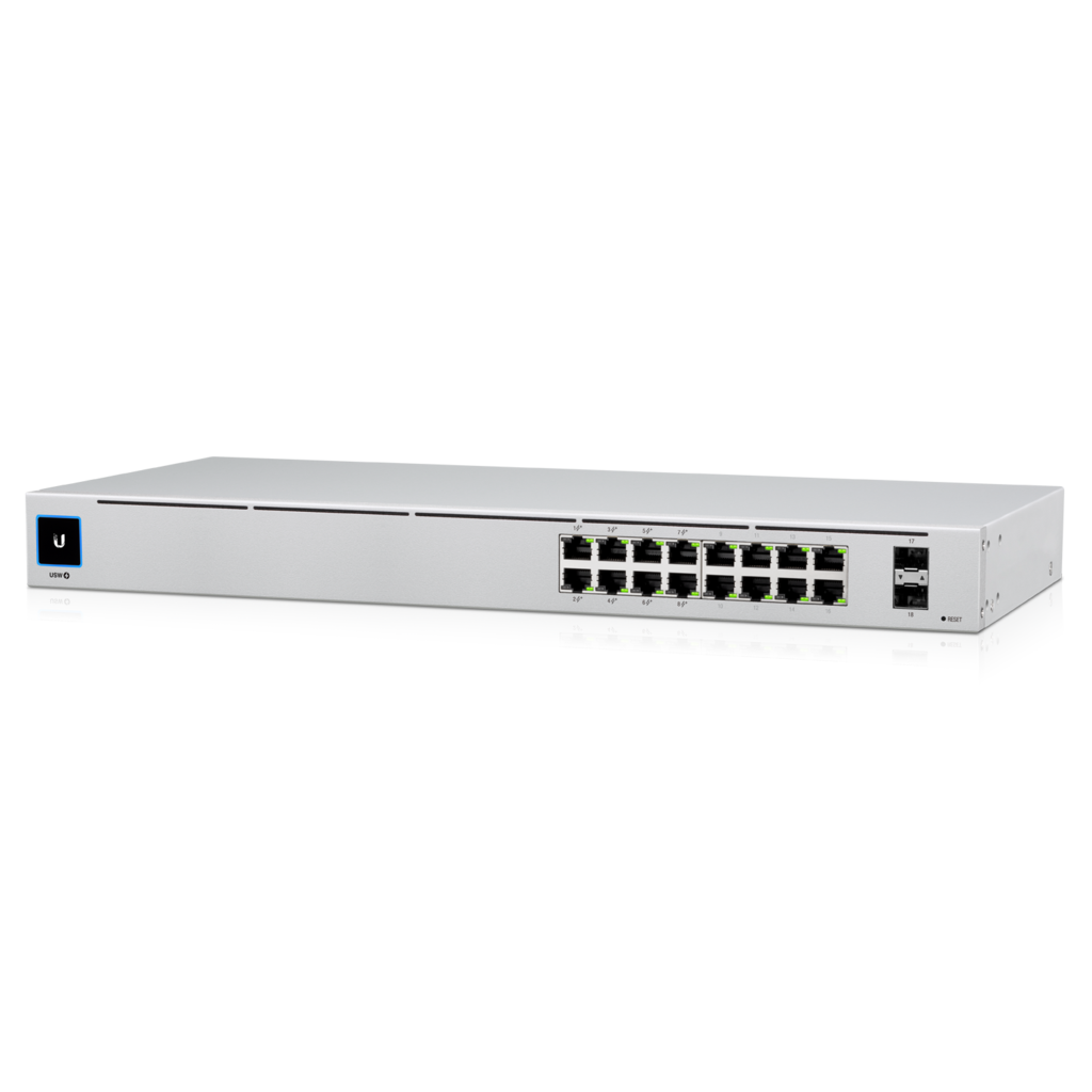 Ubiquiti UniFi Gen2 16-Port Switch with PoE+