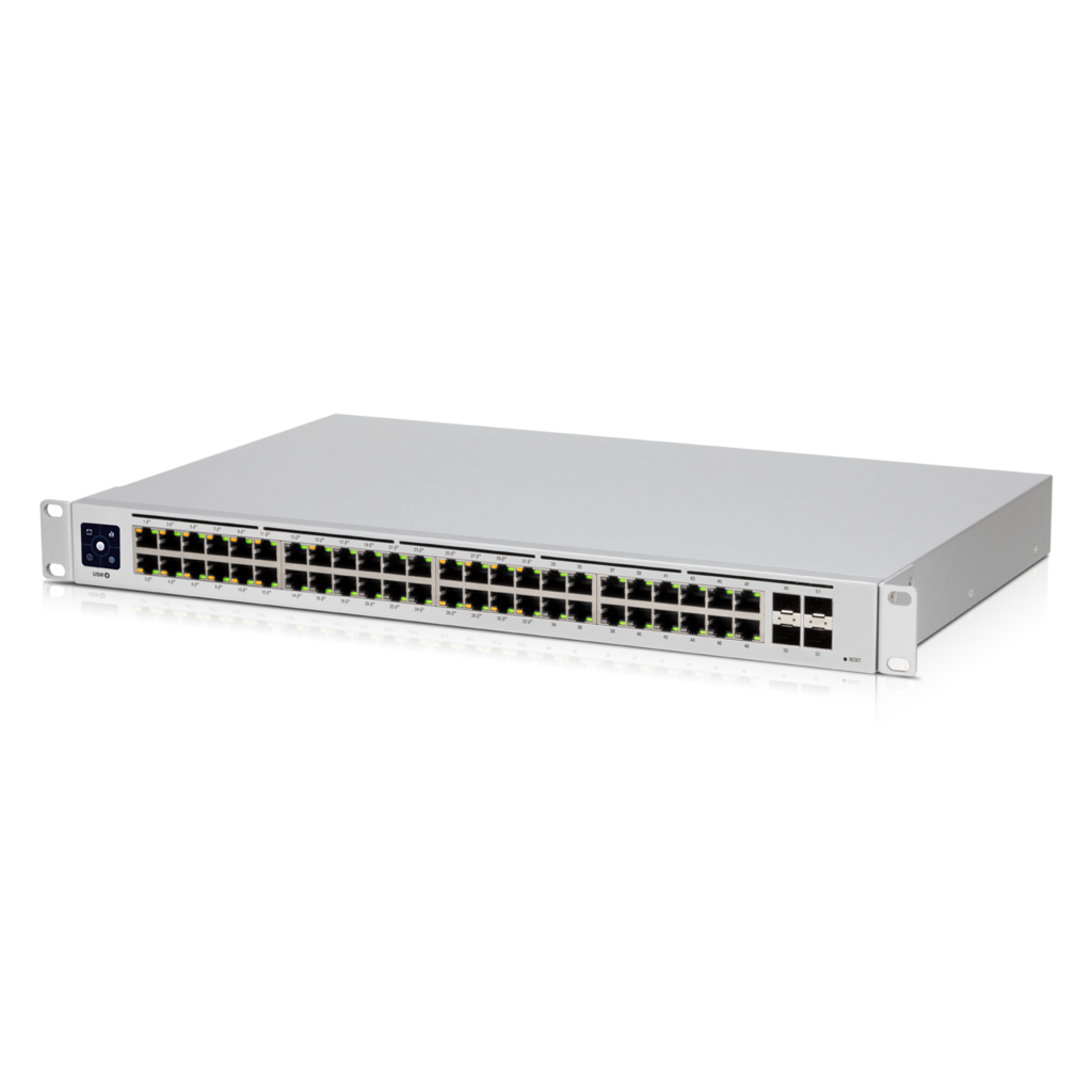 Ubiquiti Unifi 48-Port Gigabit Layer 2 Switch with 802.3at PoE+ Output
