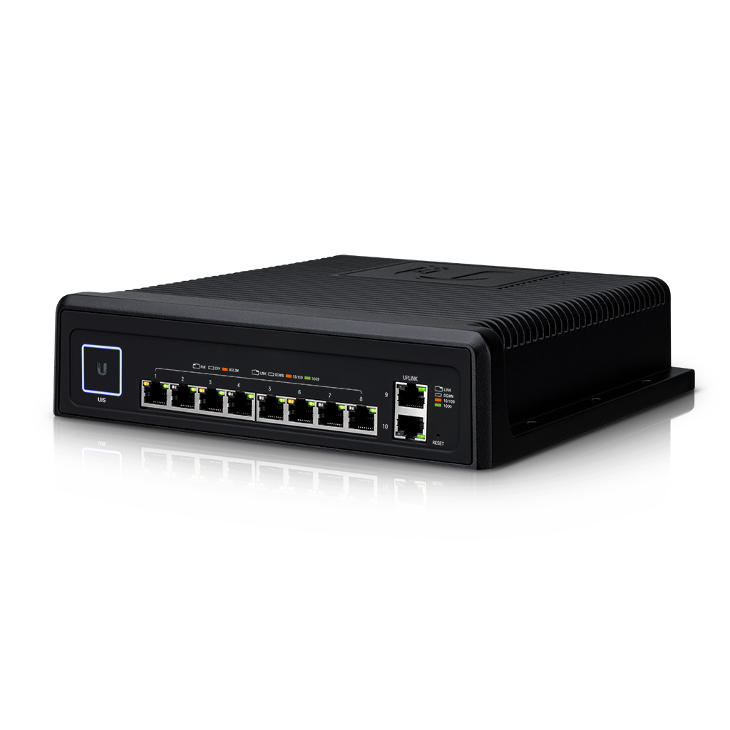 Ubiquiti UniFi Industrial Switch 802.3bt Managed PoE Switch